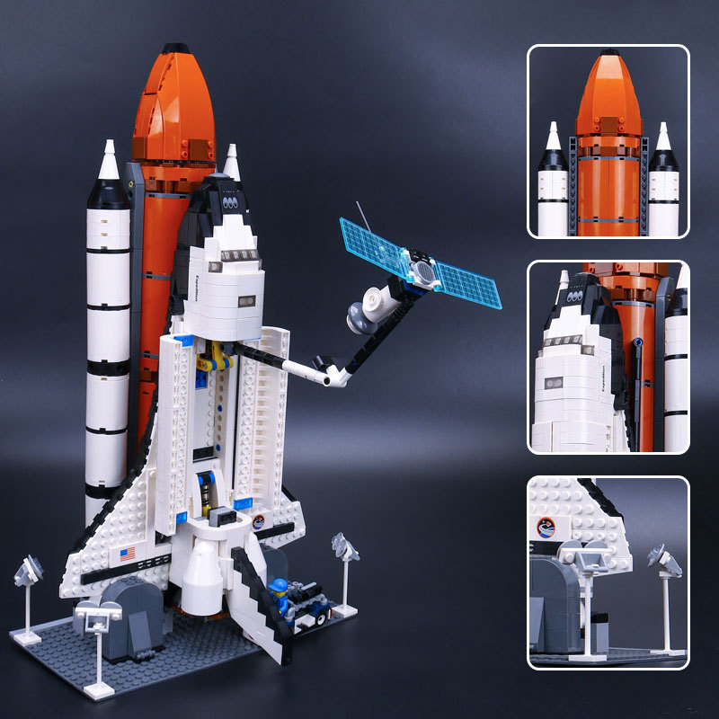 L Model Compatible with Lego L16014 1230PCS Space Models Building Kits Blocks Toys Hobby Hobbies For Boys Girls toys in space