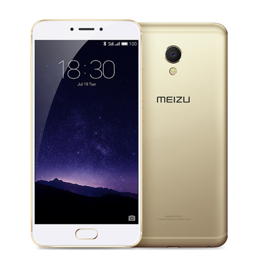 "Original Meizu MX6 MX 6 MTK Helio X20 Deca Core Mobile Phone 5.5"" 3GB RAM 32GB ROM  IMX386 12MP Camera"