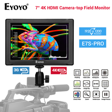 Eyoyo E7S PRO 7 inch DSLR On Camera Field Monitor IPS Full HD 1920x1200 3G SDI 4K HDMI LCD Outdoors