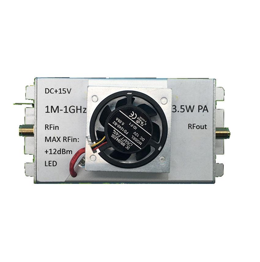 1M 1000MHz 3 5W Amplifier HF FM VHF UHF FM Transmitter Broadband RF Amplifier