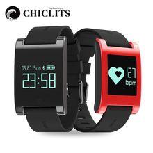 Chiclits DM68 Водонепроницаемый Смарт Группа Браслет фитнес-трекер крови Давление монитор сердечного ритма вызовы сообщения часы для телефона
