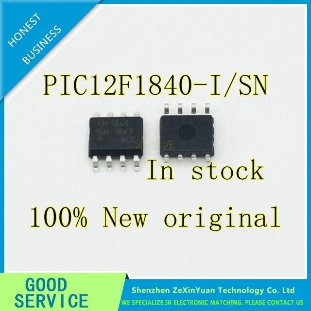 100 قطعة/الوحدة PIC12F1840 PIC12F1840 I/SN 12F1840 SOP 8 المعالج الصغير وجهاز تحكم جديد