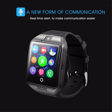OGEDA 2019 Smart Watch Men Women Sport Stopwatch LED Alarm Passometer Touch Screen Camera TF Card Bluetooth Android IOS Phone(China)
