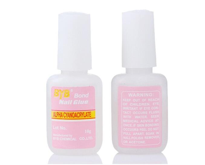 Hot Sale 1PCS 10g BYB Bond Adhesive font b Nail b font Glue With Brush for