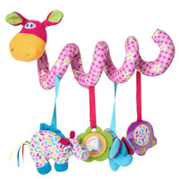 Music Box Animal Handbells Developmental Toy Bed Bells Soft Toys Rattle