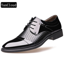 Breathable Pointed Toe Oxford Footwear For Men