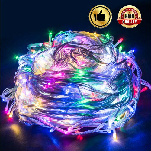 10M Waterproof Colorful100 LED holiday String lights for Christmas Festival Party Fairy Colorful Xmas LED String Light 110V/220V все цены
