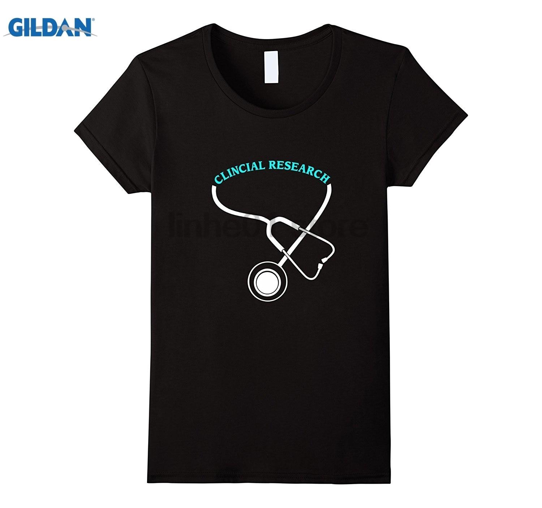 GILDAN Clincial Research Nurse Gift T-Shirt summer dress T-shirt