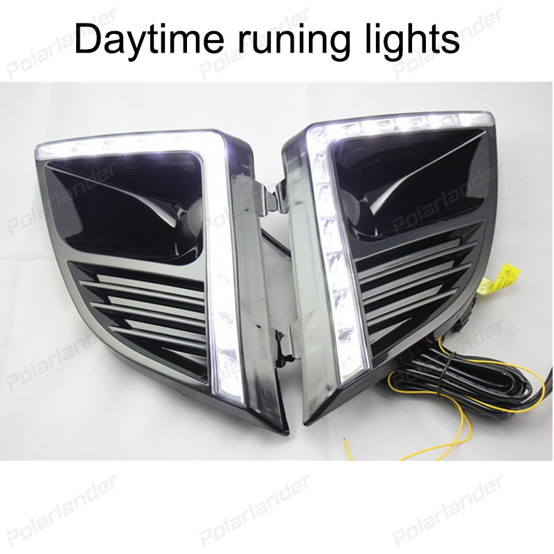 1 SET auto parts Car styling for  C/hevrolet C/ruze 2015 daytime running lights auto parts 2 pcs for c hevrolet c ruze light guide 2009 2013 daytime running lights car styling
