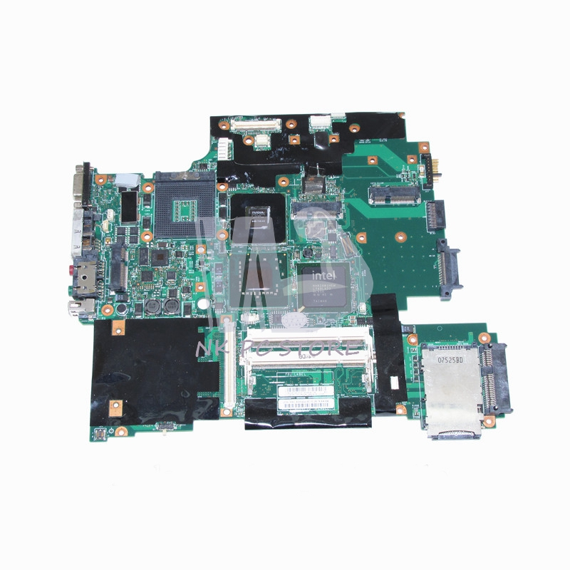 42W7876 44C3928 Main Board For Lenovo IBM thinkpad T61 T61P Laptop Motherboard 965PM DDR2 15.4 Inch with Free CPU big togo main circuit board motherboard pcb repair parts for nikon d610 slr