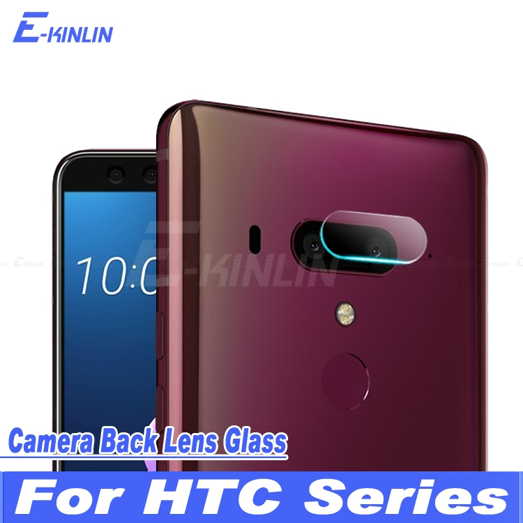 Back Camera Lens Protective Clear Transparent Tempered Glass Protector Film For HTC U12+ / U12 Plus