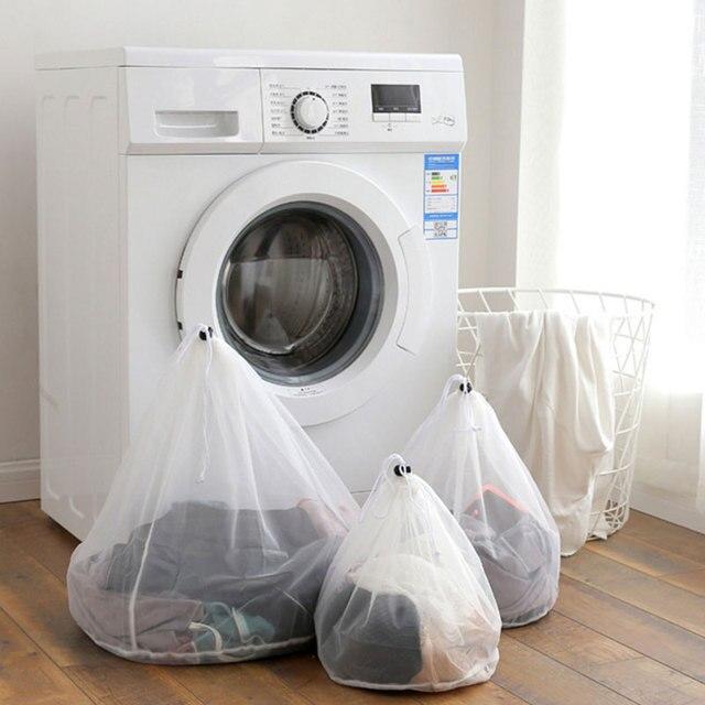 Produtos Sacos de Lavandaria Cestas De Malha Saco de cordão Underwear Bra Cuidados de Limpeza Doméstica Ferramentas e Acessórios Lavandaria Wash 7A0330