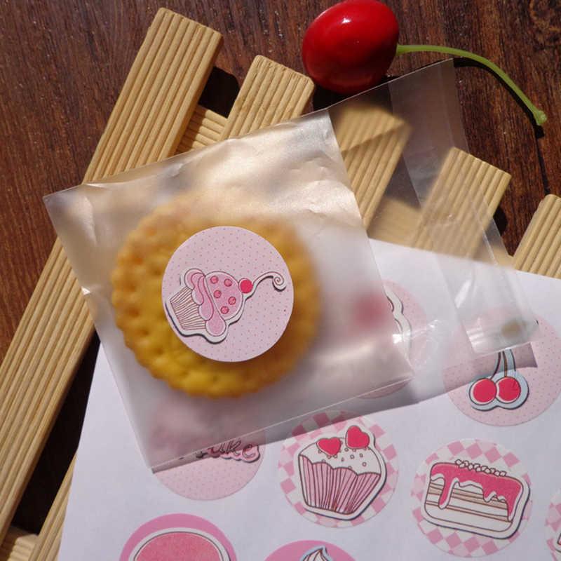 LBSISI Vida 108pcs Feito À Mão Seal Papel Etiqueta Para O Natal Saco Da Embalagem Do Bolinho Caixa de Doces de Casamento DIY Acessórios Decorativos