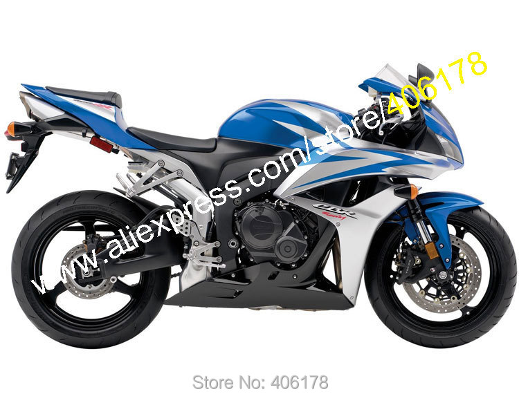 Hot Sales,For Honda CBR600RR 2007 2008 CBR 600RR CBR 600 RR 07-08 F5 Blue Silver Spare Motorcycle Fairing (Injection molding) intex 66725 supreme comfort