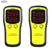 цены Portable LCD Digital Dioxide Meter CO2 Monitor Indoor Air Quality Formaldehyde Detector