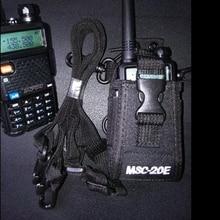 MSC 20Eトランシーバーバッグ & ナイロンラジオ用ハンドヘルドbaofeng UV 5R B5トランシーバーラジオホルダーバッグ