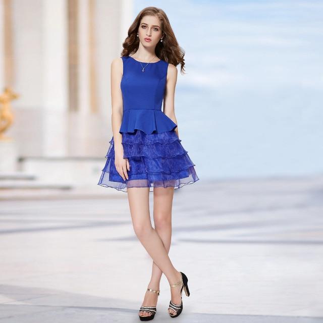Sweetheart Neckline Ruffled Short Homecoming Cocktail Dresses HE05179SB