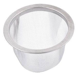 Image 3 - SDFC 2 pezzi 60 millimetri diametro della maglia rotonda tè filtro colino da tè può setaccio filtro argento trasporto di goccia