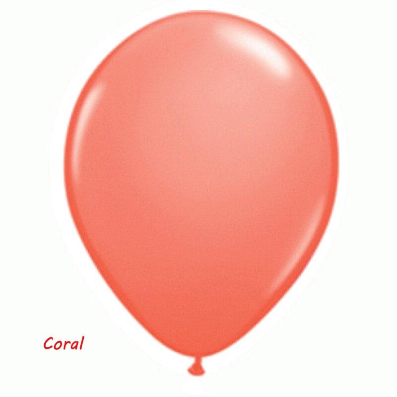 coral latex balloon_