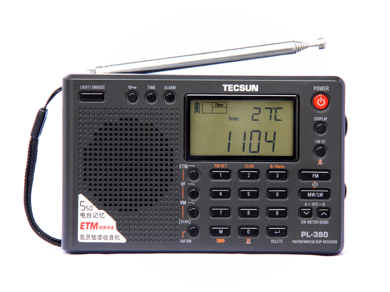 PL-380 Band Digital Demodulation Stereo RadioPL-380 Band Digital Demodulation Stereo Radio