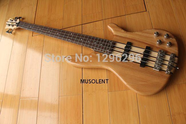 log lubricious 4 strings connect body electric bass wholesale high quality bass guitar in guitar. Black Bedroom Furniture Sets. Home Design Ideas