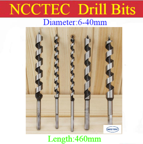 цена на [460mm length] 6 8 10 11 12 13 14 15 16 18 19 20 22 40mm diameter wood auger screws drill bits |18'' woodworking Spiral hole saw