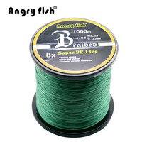 Wholesale 1000 Meters 8x Braided Fishing Line 11 Colors Super PE Line