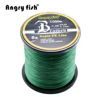 Wholesale 1000 Meters 8x Braided Fishing Line 11 Colors Super PE Line
