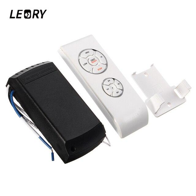 LEORY Plafond Ventilator Verlichting Afstandsbediening Kit Lamp 220 ...
