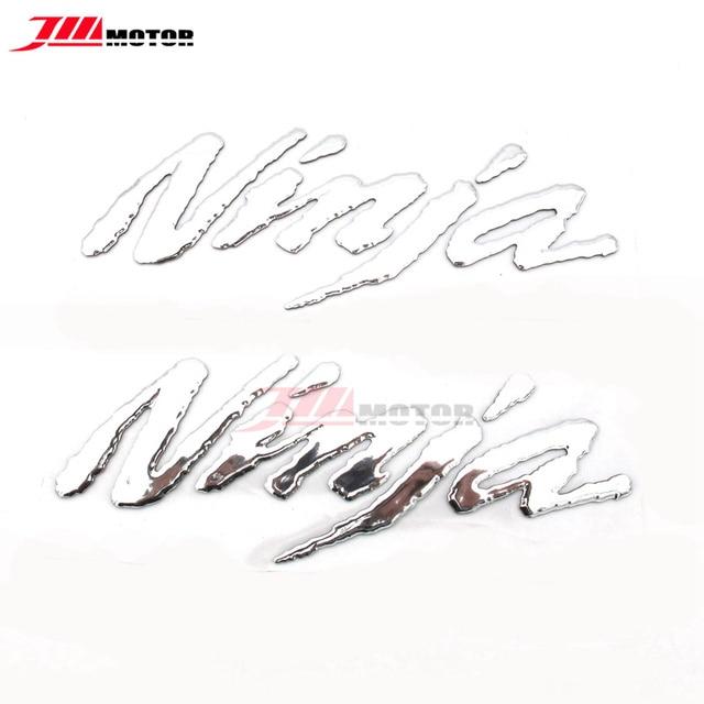 Silver Motorcycle 3D LOGO Emblem Decal Sticaker For