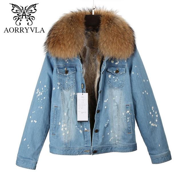 AORRYVLA New Fashion Women Denim Jacket Winter 2017 Vintage ...