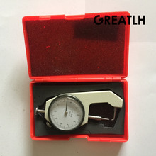 Sale Dental Lab Caliper Measuring Precision 0-10*0.1mm Thickness Instrument Sharp Metal Watch Show Thickness Gauge