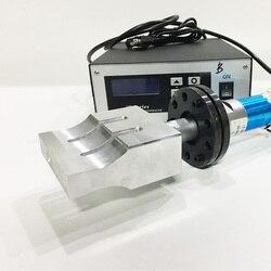 2000W ultradźwiękowy róg spawalniczy z generatorem przetwornik ultradźwiękowy 20khz