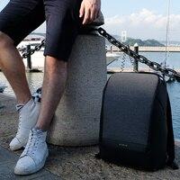 Krion FlexPack лучшие функциональные Anti theft Duffle & Рюкзак Мужские модные рюкзаки непромокаемые дорожные сумки на плечо