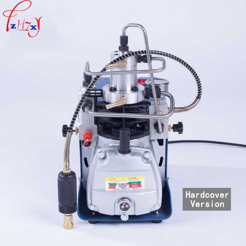 1pc Electric high-pressure air pump water-cooled single-cylinder hardcover version of high-pressure inflatable inflatable pump