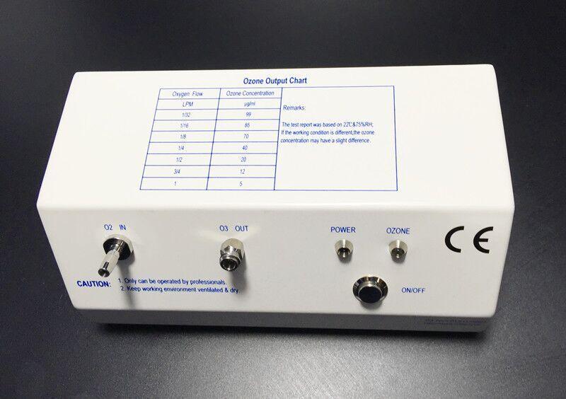 Portable ozone generator VDC with oxygen regulator
