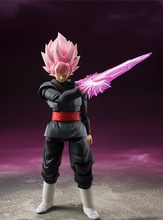 Anime Dragon Ball Z SHF Figuarts Super Saiyan Gokou Black Joint Movable PVC Action Figure Collection Model Kids Toy Doll 15cm