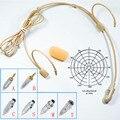 Беспроводная гарнитура с микрофоном  с 4-контактным разъемом XLR TA4F Для Shure Sennheiser AKG Samson MiPro Audio-Technica Mic System