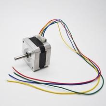 1Pc High Quality Nema 17 Stepper Motor 17HS2408 4-lead 42 motor 42BYGH 0.6A CE CNC Laser and 3D Printer