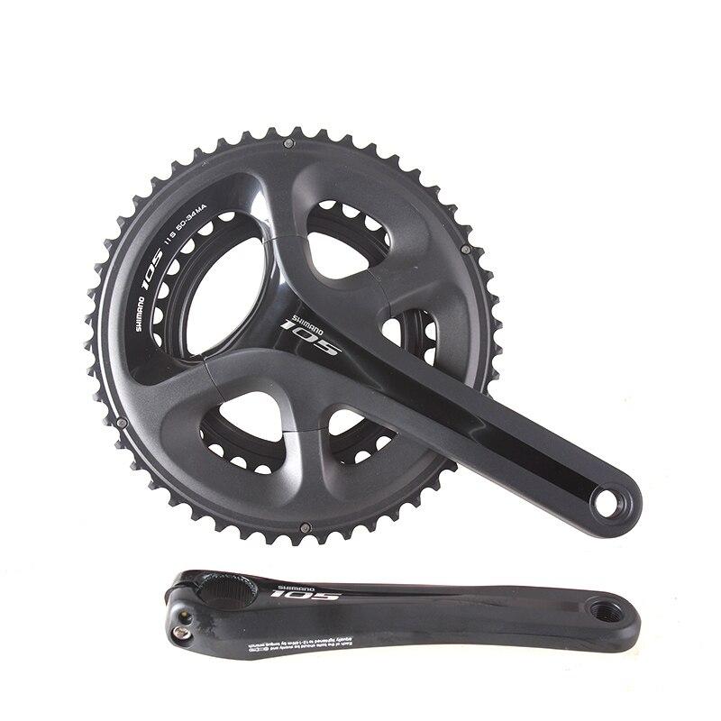 Shimano FC 5800 105 11 S 22 S 53-39 T 50-34 T 170mm 172.5mm roue à chaîne pédalier composants de vélo pièces de roue de chaîne de vélo de route