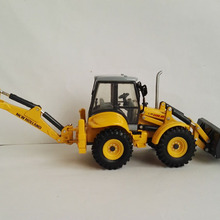 1:50, экскаватор-погрузчик New Land LB115, литые модели для коллекционных игрушек