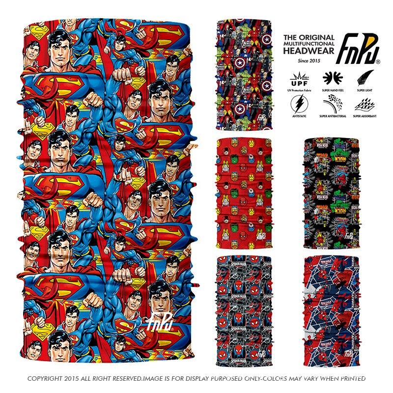 3D Marvel Comics superhéroe Bandana Inconsútil de ciclismo bufanda  Spiderman Neck Gaiter Capitán América magia pañuelo Cosplay cara máscaras en  Los hombres ... c6bbdfcfa52