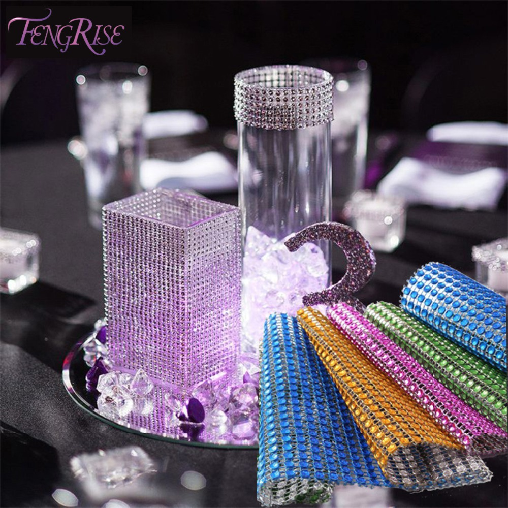 Buy fengrise wedding decorations baby for Bling decor