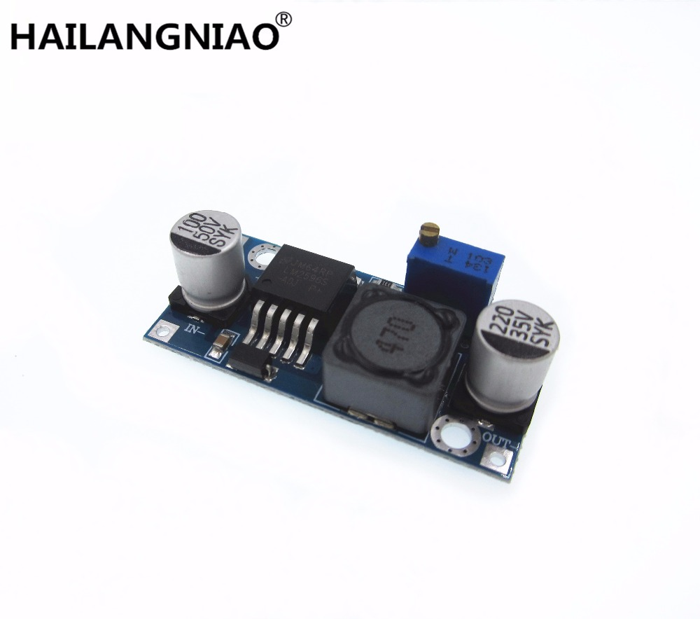 1pcs LM2596 LM2596S DC-DC 3-40V adjustable step-down power Supply module NEW 10 pcs lot dc dc buck converter step down voltage module 6v 12v 20v 24v adjustable power supply 7 40v to 1 2 35v 8a 300w