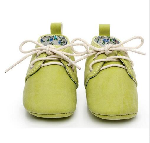 Hongteya new lace-up baby oxford shoes Newborn toddler baby moccasins Pu leather Anti-slip first walker baby shoes soft Moccs new genuine leather handmade leopard toddler baby moccasins girls kids ballet shoes first walker toddler soft dress shoes