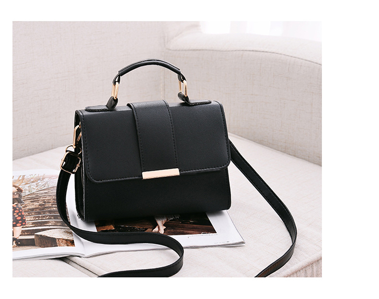 Women Bag Leather Handbags PU Shoulder Bag Small Flap Crossbody Bags for Women Messenger Bags 22