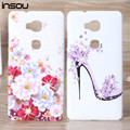 For Huawei Honor 5X Case,Luxury Crystal Diamond 3D Bling Hard Plastic Cover Case For Huawei Honor 5X Cover Cell Phone Cases
