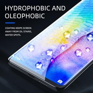 Image 4 - Ihaitun Cao Cấp 6D Kính Cường Lực Cho Huawei P40 Pro PE Lite Mate 30 P30 Pro P20 Giao Phối 20 Kính Cường Lực Bảo Vệ Màn Hình Trong Cho Huawei Mate20 P 30 bao Bọc Toàn Bộ Phim