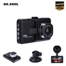 PARASOLANT recorder Car Full HD 1080 p Dash Cam Visione Notturna Libera Videocamera per auto Loop Recorder Inglese/Russo Menual 120 wide-angle