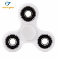 LeadingStar 7 Colors Tri Spinner Plastic EDC Hand Spinner For Autism And ADHD Fidget Spinner Long